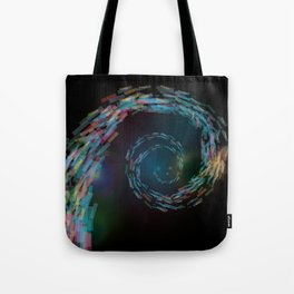 space spiral Tote Bag