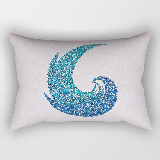 - new wave - Rectangular Pillow