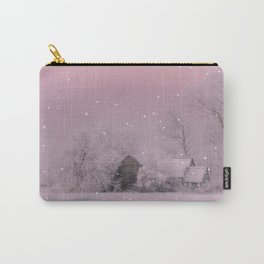 Cold Winter morning in Germany Carry-All Pouch