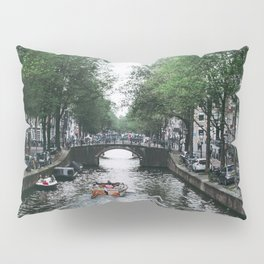 Canal Cruise Pillow Sham