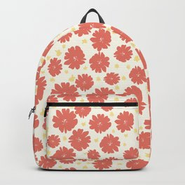 Hand drawn florals Backpack
