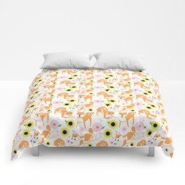 Spring Shiba Comforters