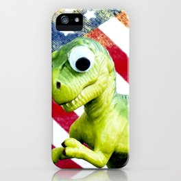 Tiny Diny USA iPhone Case