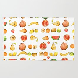 Un sacco di frutta Rug