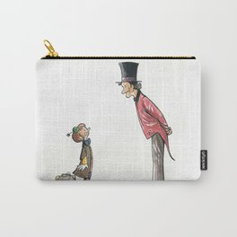 The Circus: Clown and Ringmaster Carry-All Pouch