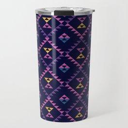Bohemian Kilim Ethnic Pattern 1 Travel Mug