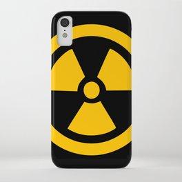 Yellow Radioactive iPhone Case
