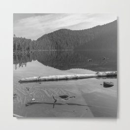 Placid Lake Zen Metal Print
