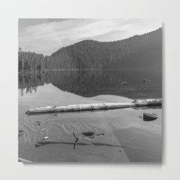 Placid Lake Zen Metal Print
