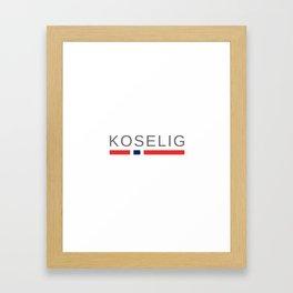 Norway Cozy | Koselig Framed Art Print