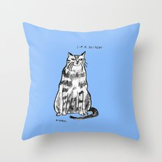 I'm a delight Throw Pillow