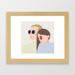 bonnie n clyde Framed Art Print