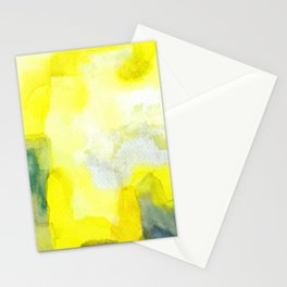 Yellow Mist Pop Lemon Ooh La La Stationery Cards