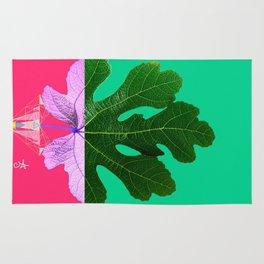 Fig Leaf Diamond Christmas - Other Half and Half Rug