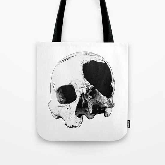 In Thee Dark We Live Tote Bag