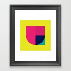 All About U Framed Art Print