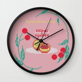 lilikoi lychee juice Wall Clock