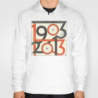 tour de france Hoodies featuring 100 Years of The Tour de France by Dushan Milic