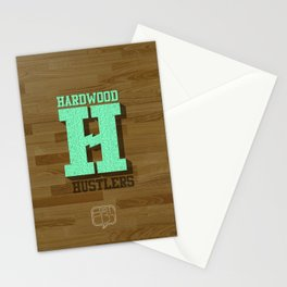 Hardwood Hustlers Stationery Cards