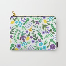Lavender and Lemons Carry-All Pouch