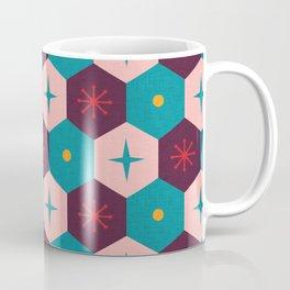 Honeycomb with atomic elements Pattern Coffee Mug
