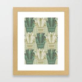 Emerald Avonia Framed Art Print