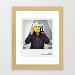 Minifig me ! – Everyone has a LEGO piece inside - 7 Framed Art Print