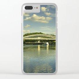 Vilnius Castle Bridge Clear iPhone Case