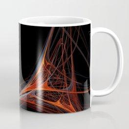 Fractal 39 Red Coffee Mug