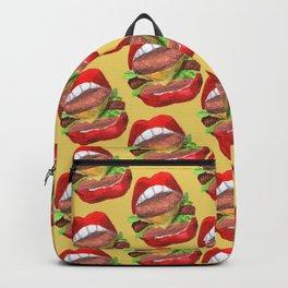 Burguer lips Backpack