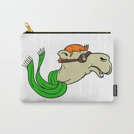 Camel Wearing Goggles Mascot Carry-All Pouch