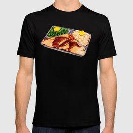 TV Dinner Pattern T-shirt