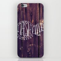nashville iPhone & iPod Skins featuring Nashville by Grant Fisher