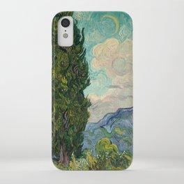 Cypresses - Van Gogh iPhone Case