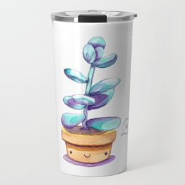 Cute succulent Travel Mug