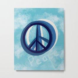 Peaceful sky Metal Print