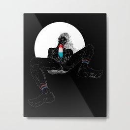 Human Bomb Pop Metal Print