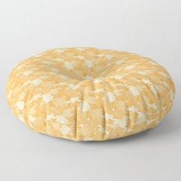 Atelier Siempre Cat Camo: Tasteful Tangerine Floor Pillow