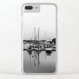 Boats Reflex Clear iPhone Case