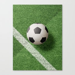 BALLS / Football Canvas Print