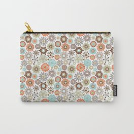 Ornate Floral  Carry-All Pouch