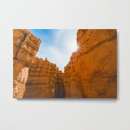 Sunlight in Bryce Canyon Metal Print