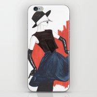 fringe iPhone & iPod Skins featuring Fringe by Sweet Bliss Art