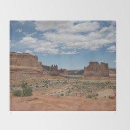 Desert_utah_spring Throw Blanket