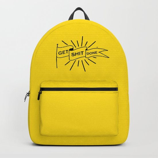 GET SHIT DONE Backpack