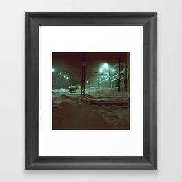 In hibernation Framed Art Print