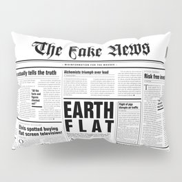 The Fake News Vol. 1, No. 1 Pillow Sham