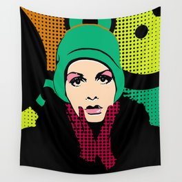 """""""Twiggy Pop Color"""" Wall Tapestry"""