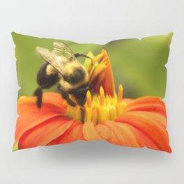 Mexican Sunflower Bumblebee Pillow Sham