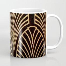 Art nouveau Black,bronze,gold,art deco,vintage,elegant,chic,belle époque Coffee Mug